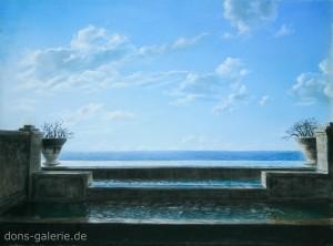 Urlaub (Pastellkreide 50x65cm 2014) Verkauft